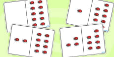 Ladybird Counting Number Bonds to 10