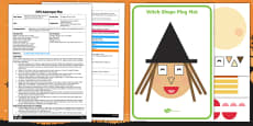EYFS 2D Shape Witch Adult Input Plan and Resource Pack