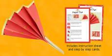Paper Fan Craft Instructions