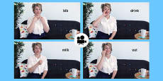 British Sign Language(BSL): Baby Sign Mealtime Signs Video Clip