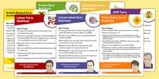2015 General Election Party Manifestos (Child Friendly)