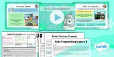 PlanIt - Computing Year 6 - Kodu Programming Lesson 1: Code Investigator Lesson Pack