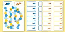Under the Sea Adventure Themed Editable Board Game