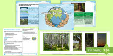 Earth Day Persuasive Writing Lesson Plan and Enhancement Ideas