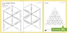 Ecology Tarsia Triangular Dominoes