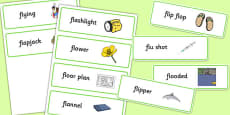 Two Syllable FL Word Cards