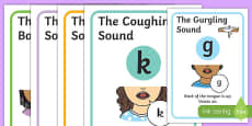 Visual Supports for Speech Sounds Plosives