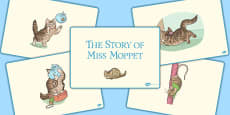 The Story of Miss Moppet Story Sequencing