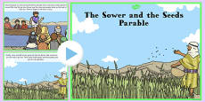 The Sower and the Seeds Parable PowerPoint
