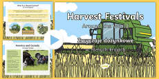 Harvest Festivals Around The World PowerPoint Polish Translation