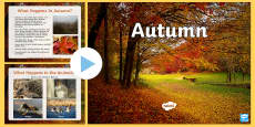 Autumn PowerPoint