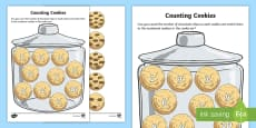 Counting Cookies Activity Sheet
