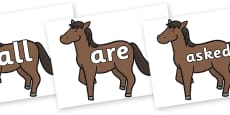 Tricky Words on Chinese New Year Horse