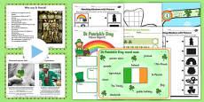 St Patricks Day Teaching Pack