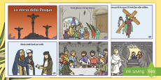 * NEW * La storia della Pasqua a sequenze Attività