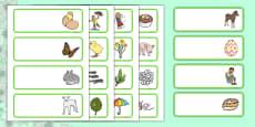 Spring Drawer Peg Name Labels
