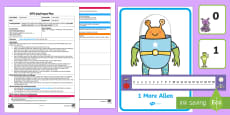 * NEW * EYFS 1 More Alien Adult Input Plan and Resource Pack