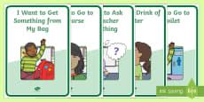 Pupil Teacher Communication Tool A4 Display Poster