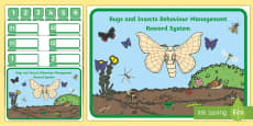 Bugs and Insects Behaviour Management Reward System