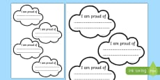 Proud Cloud Display Pack Proud Cloud Template