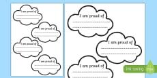 Proud Cloud Display Pack Proud Cloud Template