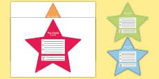 My Goals Pupil Target Stars Arabic Translation