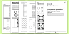 Second Level Assessment Numeracy and Mathematics - Shape, Position and Movement Symmetry