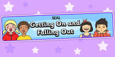 Getting On and Falling Out Display Banner (SEAL)