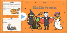 All About Halloween PowerPoint KS1