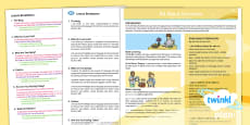 * NEW * CfE Second Level French Year 5 All About Ourselves PlanIt Overview