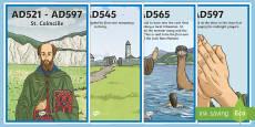 St. Colmcille Display Timeline