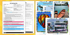 Transport Describe It and Find It EYFS Adult Input Plan