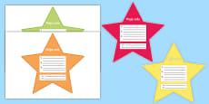 My Goals Pupil Target Stars Polish