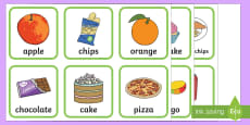 Australia - Healthy and Unhealthy Sorting Activity