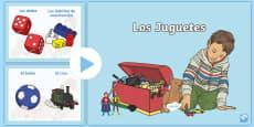 Toys PowerPoint Spanish
