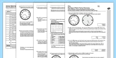 KS2 Reasoning Test Practice Solve Problems Converting Between Units of Time Romanian Translation