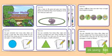 EYFS Outdoor Maths Challenge Cards