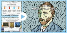 * NEW * Van Gogh Information PowerPoint