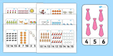 Number Recognition To 20 Peg Activity