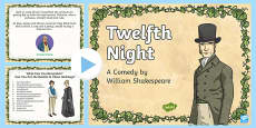 Shakespeare's Twelfth Night PowerPoint