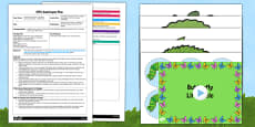 Caterpillar Lacing Activity EYFS Adult Input Plan and Resource Pack to Support Teaching on The Very Hungry Caterpillar