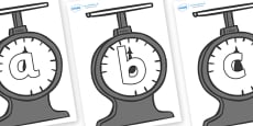 Phoneme Set on Weighing Scales