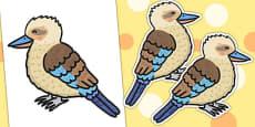 Editable Kookaburra