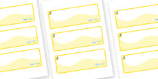 Marula Themed Editable Drawer-Peg-Name Labels (Colourful)