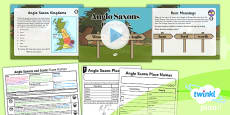 PlanIt - History LSK2 - Anglo Saxons and Scots Lesson 2: Place Names Lesson Pack
