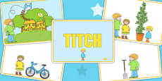 Story Sequencing to Support Teaching on Titch