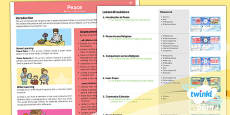PlanIt - RE Year 5 - Peace Planning Overview