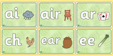 Phase 3 Phonics Signs
