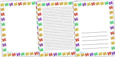 Butterfly Full Page Borders