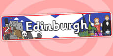 Edinburgh Role Play Banner